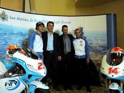 El WTR San Marino presenta sus efectivos para 2009