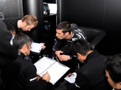 Melandri: Un an de contrat avec Hayate Racing