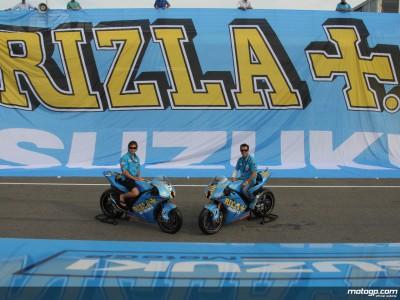 Suzuki y Rizla continúan su asociación en MotoGP