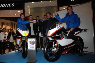 Jack&Jones Team stellt sich in Jerez vor