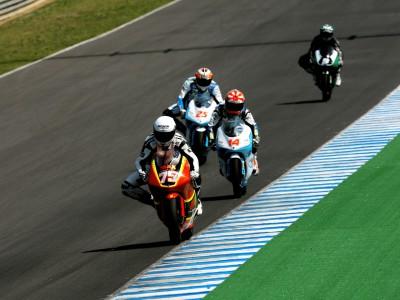 Simon reste en tête à Jerez