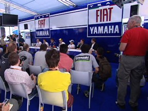 Fiat Yamaha present 2009 project with resilient outlook