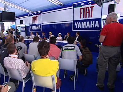 Fiat Yamaha presenta su proyecto 2009 en Jerez