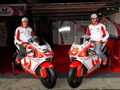 MotoGP-Fahrer in neuen Farben