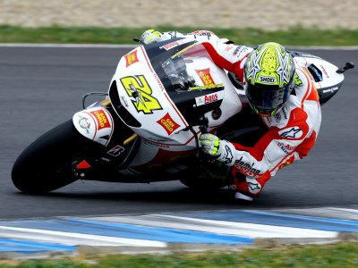 Elías happy to be racing with Gresini again
