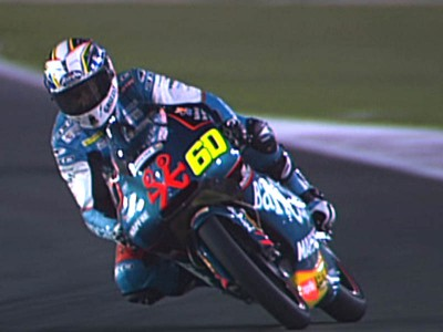 Simon implacabile nelle libere di Losail