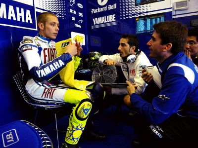 Rossi notes improvements in good Friday session