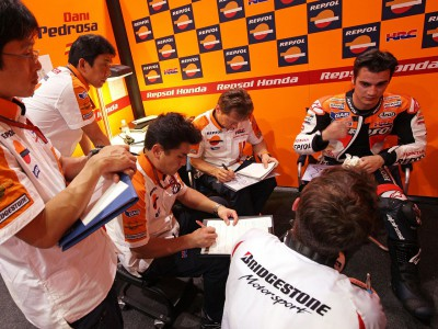 "Pedrosa claims ""ten degrees more movement"" for Japan date"