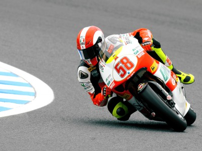 Simoncelli makes mark in Motegi 250cc practice