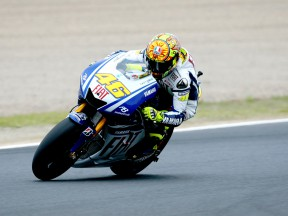 Rossi reflects on good start in Japan