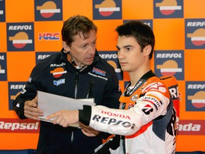 Pedrosa reflects on a disappointing first day at Motegi