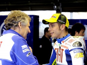 Qualifiche annullate: Rossi in pole