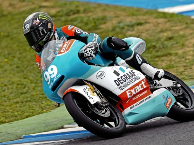 Webb in front in 125cc Motegi warm-up