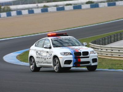 In Jerez wird das BMW M Safety Car präsentiert