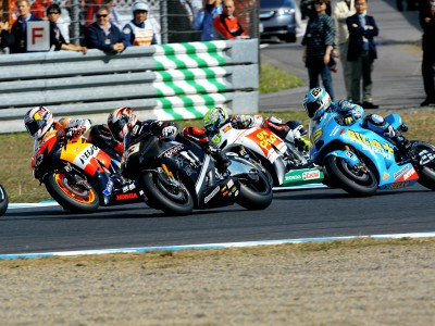 MotoGP racing numbers for round three