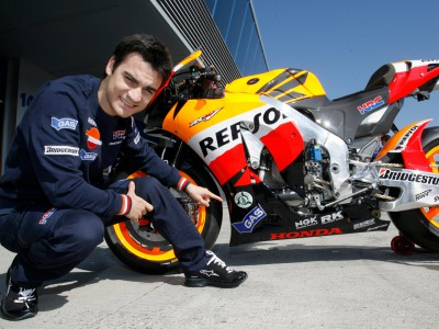 Pedrosa supports Honda safety activities