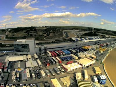 Follow the paddock with MotoGP Paddock Webcam
