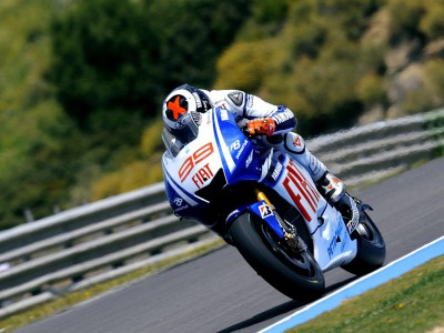 Lorenzo top beim Qualify in Jerez