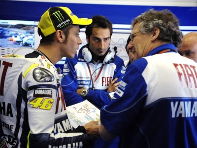 Rossi uncomfortable with windy Jerez conditions