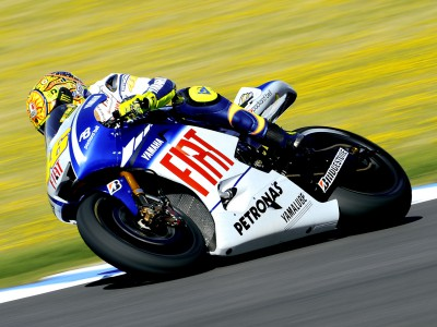Rossi back on top in Jerez warm-up
