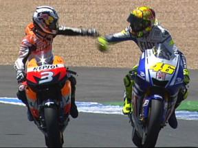 RACE:V.ロッシ、チャンピオンの貫禄を見せて欧州ラウンド緒戦飾る
