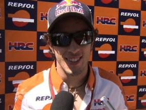 """Dovizioso: """"No hemos sido capaces de lograr el mejor rendimiento de la moto"""""""