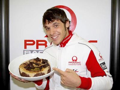 Pramac Racing fête les 21 ans de Canepa dans le paddock du Mans