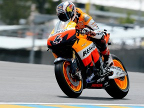 Dovizioso, el más rápido en los libres del viernes en Le Mans