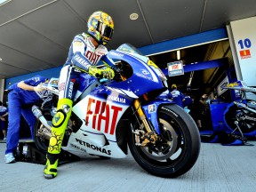 Rossi notes importance of work in varied conditions