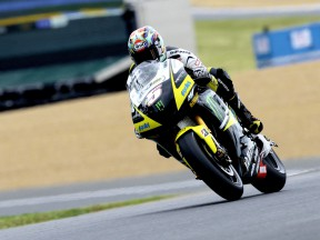 Edwards ups the pace in early MotoGP practice
