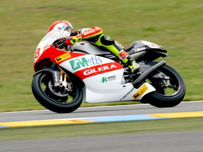 Simoncelli warms-up quickest at Le Mans