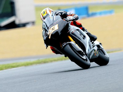 Podium finish big achievement for Melandri and Hayate