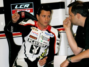De Puniet eighth fastest on day one of LCR's home GP