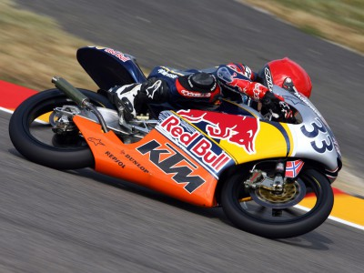 Red Bull MotoGP Rookies Cup Qualifying: Fagerhaug on pole