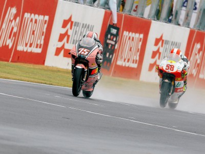 Pasini earns home victory in Italian rain