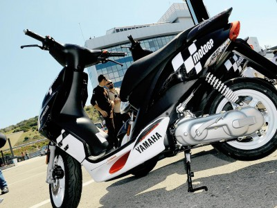 Yamaha JogRR scooters continue to play a key role in MotoGP