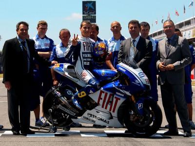 Lorenzo präsentiert Barcelona-Lackierung