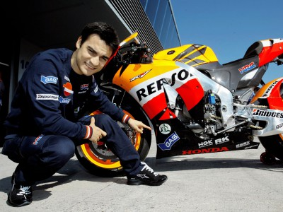 Pedrosa curious to test condition