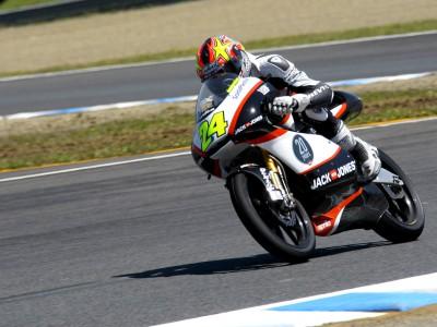 Corsi quiere recuperar su nivel y correr en Moto2