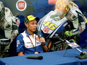 """Rossi: """"Je ne suis pas satisfait de mes performances cette année"""""""