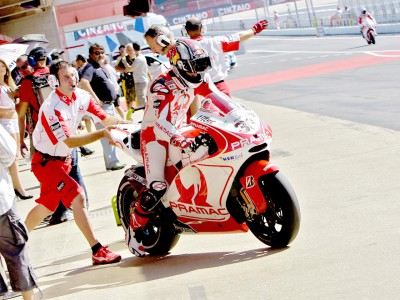 Pramac Racing determined after Barcelona qualifying