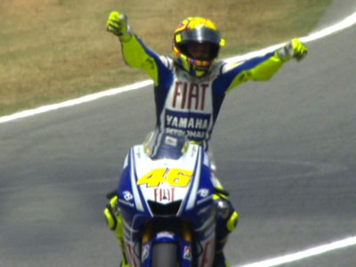 Brilliant Rossi takes 99th triumph on final corner