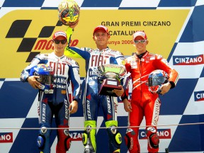 Rossi, Lorenzo and Stoner speak in post-race press conference