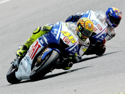 Rossi and Lorenzo ready for battle to continue