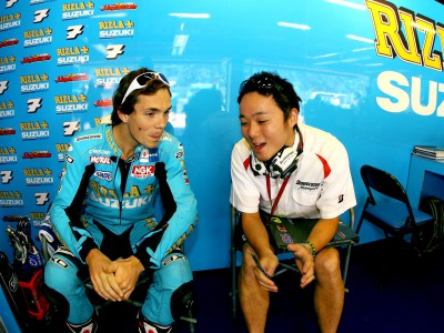 Day of experimentation for Rizla Suzuki