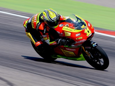 Cortese snatches first ever 125cc pole position