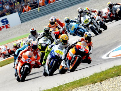 MotoGP de malas feitas para Laguna Seca