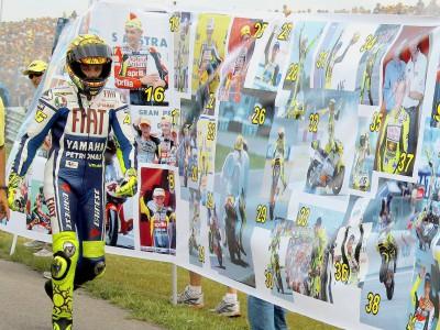 100 victorias de Rossi - Las estadísticas
