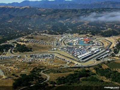 The GP history of Laguna Seca