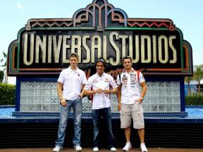 Las estrellas de MotoGP desembarcan en Hollywood